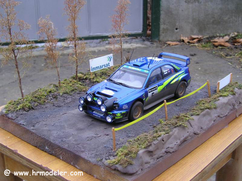 1 24 Tamiya Subaru Impreza Wrc 2001 Great Britain
