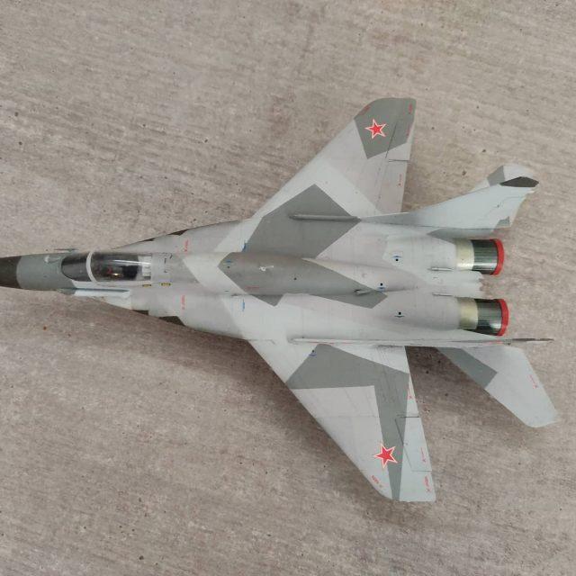 1/72 Zvezda Mig-29 SMT finished #scalemodelling #scalemodelplane #scalemodel #scalemodelaircraft #zvezda #mig29smt #mig29 #modelplanes